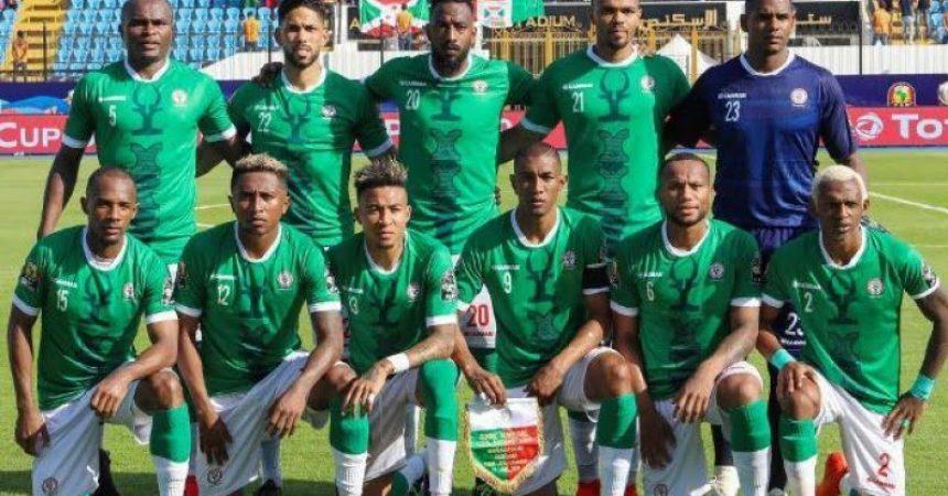 L'équipe nationale de Football de Madagascar surnommée les BAREA