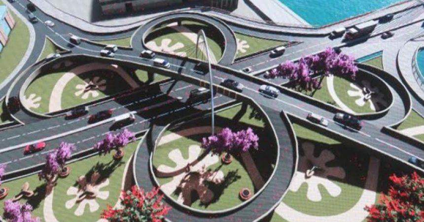 Maquette du projet Tanà-Masoandro du Président Andry Rajoelina