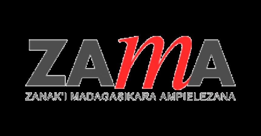 Logo en couleur de l'association malgache ZAMA