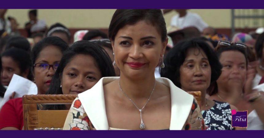 Mme Mialy RAJOELINA, Première dame de Madagascar
