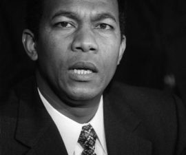 Didier Ratsiraka, ancien président de la république de Madagascar