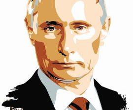 Vladimir Poutine, lors du sommet Russie Afrique