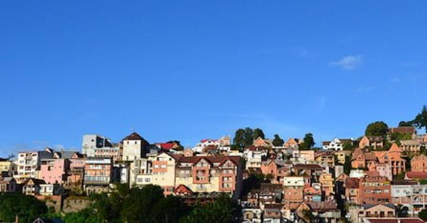 La villes des Milles, Antananarivo, à Madagascar
