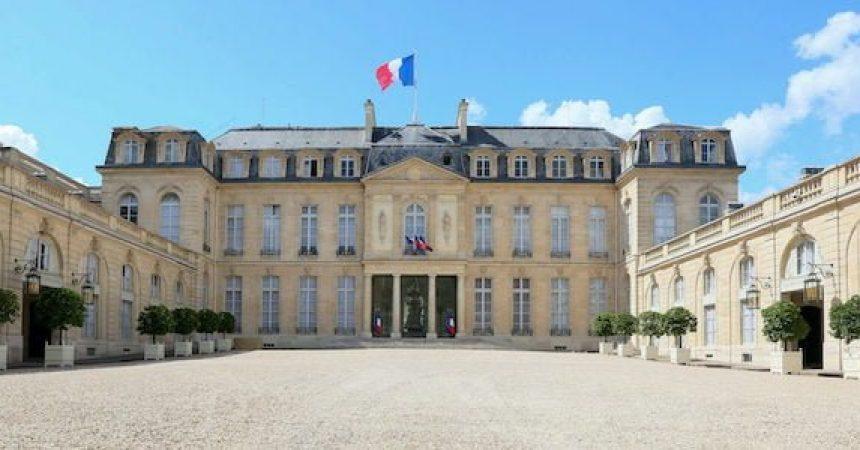 Palais de l'Elysee en France