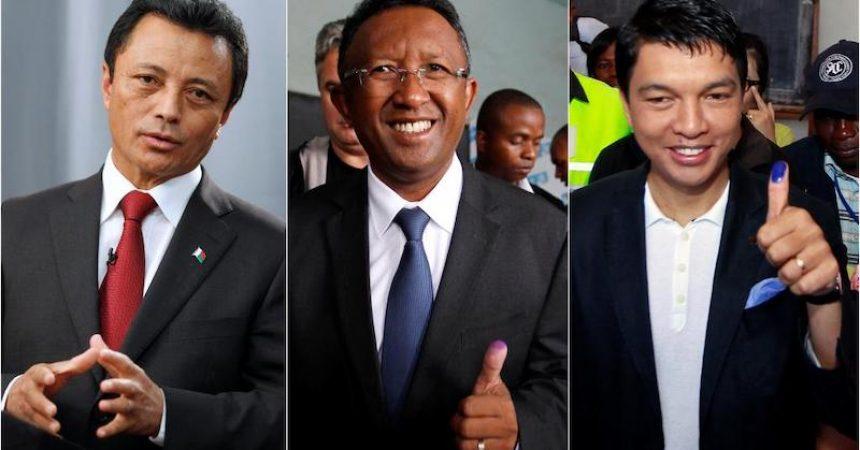 Les trois présidents de Madagascar
