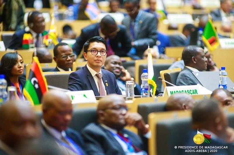 Andry Rajoelina à Addis-Abeba