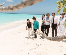 Emmanuel Macron sur les Îles Glorieuses, à Madagascar