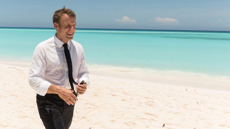 Macron sur les iles Eparses malagasy