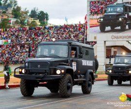 Défilé militaire durant la fête de l'Indépendance de Madagascar