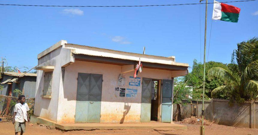 Madagascar : un bureau fokontany