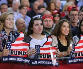 """Les fans de """"Trump"""""""
