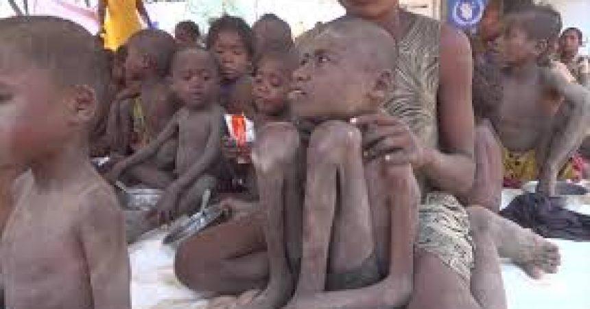 Famine à Madagascar