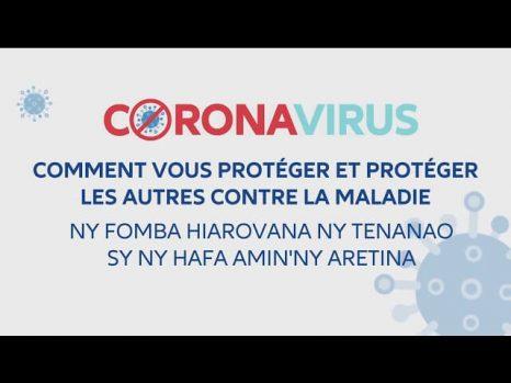 Plan sanitaire : information sur la protection contre le covid-19